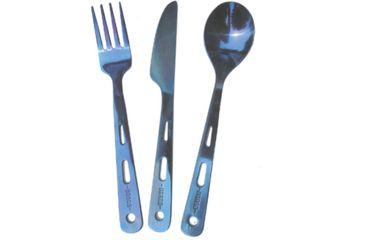 Vargo Titanium Spn/frk/knife Set T-202