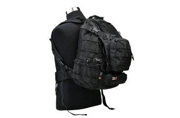 J-Tech Gear Heracles Backpack, Black PA01-2800-00 BK