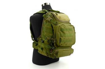 J-Tech Gear Heracles Backpack, SOD Olive Drab PA01-2800-00 SOD