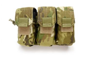 HSS International Triple 3x3 Rifle Mag Pouch, Multi-Cam HSS-POUCH-RIFLE-MAGS-3X3
