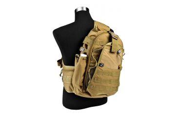 J-Tech Gear City Ranger Single Sling Backpack, Coyote Tan PA01-2300-00 CM