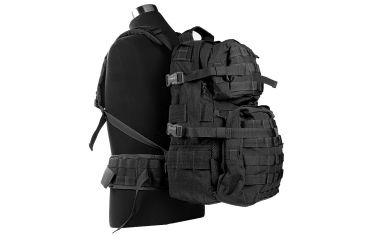 J-Tech Gear D-2 A+ Assault Backpack, Black PA01-0502-0A BK