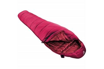 Vaude Sioux 800 Sleeping Bag, Sangria 724128