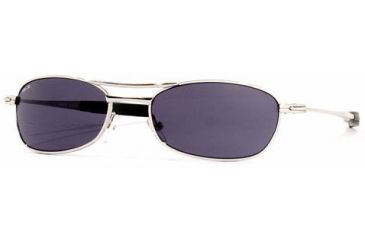VedaloHD 2223 Bianco Frame color: Polished Chrome / Lenses color: Smoke