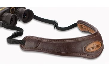 Vero Vellini Contour Binocular Sling -Brown Leather