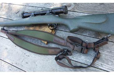 Vero Vellini High Climbing Double Riflesling, Forest Green w/ Dark Brown V17350