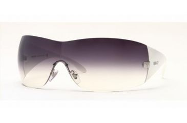 Versace VE 2054 Sunglasses Styles Silver Frame / Gray Gradient Lenses, 10008G-0141