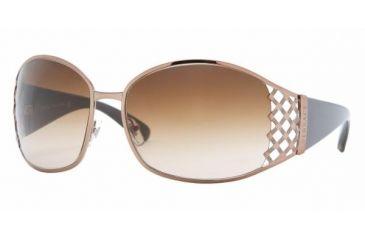 Versace VE 2094 Sunglasses Styles Light Brown Frame / Brown Gradient Lenses, 104513-6316