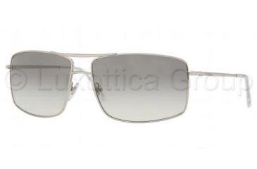 Versace VE 2104 Sunglasses Styles Silver Frame / Crystal Gray Gradient Lenses, 100032-6114