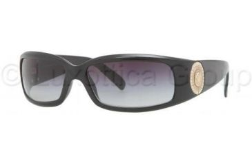 Versace VE4044B Single Vision Prescription Sunglasses VE4044B-870-8G-6015 - Frame Color Black, Lens Diameter 60 mm