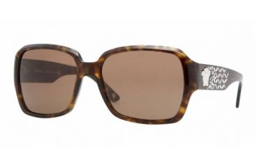 8e4234b03f Versace VE4204B Progressive Sunglasses - Havana Brown Frame   57 mm Prescription  Lenses