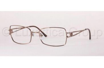Versace VE1114B Eyeglass Frames 1045-5418 - Light Brown