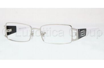 Versace VE1163B Bifocal Prescription Eyeglasses 1000-5016 - Silver Frame