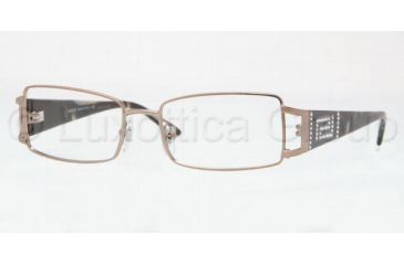 Versace VE1163B Bifocal Prescription Eyeglasses 1013-5016 - Brown Frame