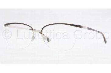 Versace VE1188 Eyeglass Frames 1287-5416 - Brown/Silver