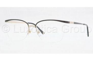 Versace VE1188 Eyeglass Frames 1291-5216 - Black/Pale Gold