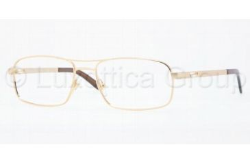 Versace VE1190 Progressive Prescription Eyeglasses 1297-5317 - Matte Gold