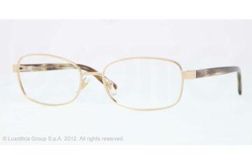 Versace VE1213 Eyeglass Frames 1252-53 - Pale Gold Frame, Demo Lens Lenses