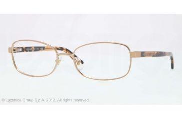 Versace VE1213 Eyeglass Frames 1304-53 - Brown Frame, Demo Lens Lenses