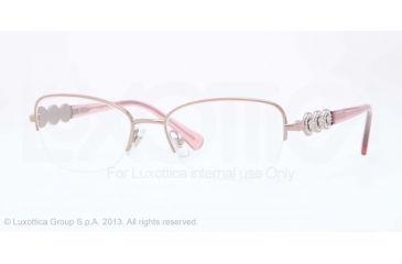 Versace VE1217B Bifocal Prescription Eyeglasses 1333-52 - Antique Pink Frame