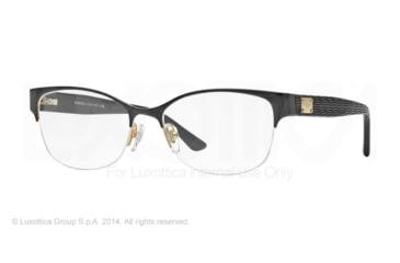 Versace VE1222 Progressive Prescription Eyeglasses 1342-53 - Gold Frame