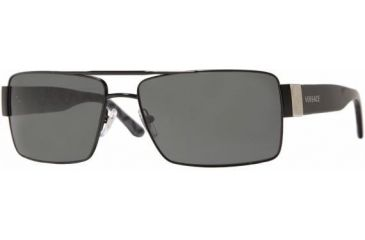 c1e6a8ac79 Versace 2075 Black Gray 1009 87 Sunglasses by Versace Source · Versace  Sunglasses VE2075 Free Shipping over 49