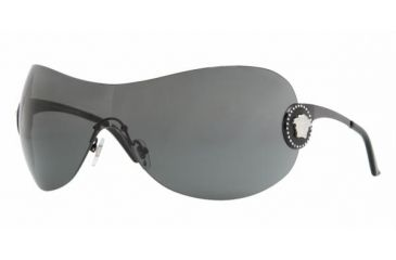 Versace VE2113B #100987 - Black Gray Frame