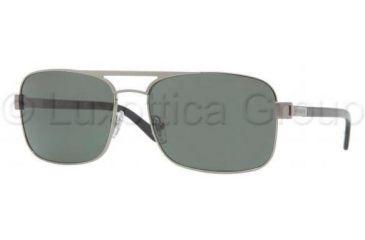 Versace VE2127 Sunglasses 100171-5817 - Gunmetal Frame, Green Lenses