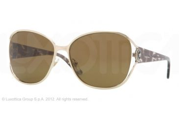 Versace VE2137 Single Vision Prescription Sunglasses VE2137-125273-58 - Lens Diameter 58 mm, Frame Color Pale Gold