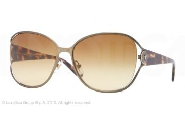 Versace VE2137 Single Vision Prescription Sunglasses VE2137-13252L-58 - Lens Diameter 58 mm, Frame Color Matte Brass
