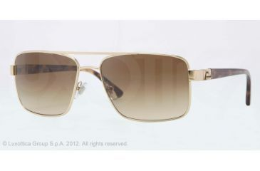 Versace VE2141 Sunglasses 125251-58 - Pale Gold