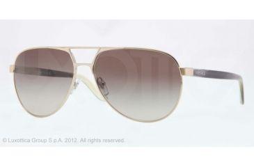 Versace VE2142 Progressive Prescription Sunglasses VE2142-12528E-60 - Lens Diameter 60 mm, Lens Diameter 60 mm, Frame Color Pale Gold Green
