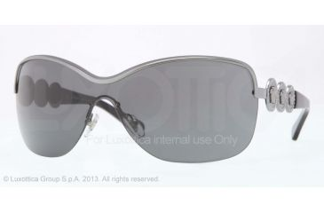 96c0b48703ff Versace VE2146B Sunglasses 100187-36 - Gunmetal Frame, Gray Lenses