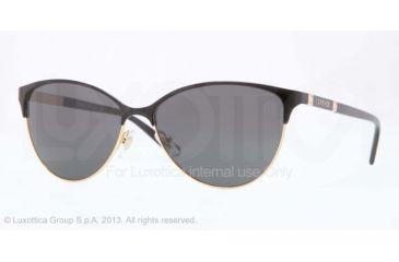 Versace VE2148 Sunglasses 100287-57 - Gold Frame, Gray Lenses