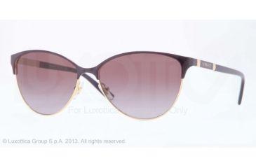 Versace VE2148 Sunglasses 10028H-57 - Gold Frame, Violet Gradient Lenses