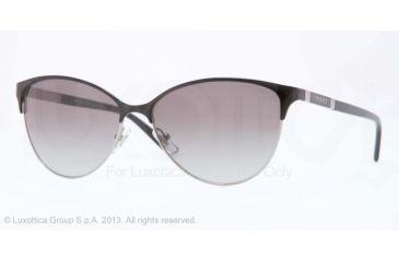 Versace VE2148 Sunglasses 100311-57 - Dark Silver Frame, Gray Gradient Lenses