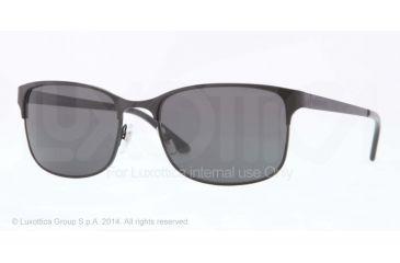 Versace VE2149 Sunglasses 126187-56 - Matte Black Frame, Gray Lenses