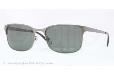 Versace VE2149 Sunglasses 126271-56 - Brushed Gunmetal Frame, Gray Green Lenses