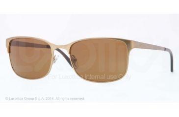 Versace VE2149 Sunglasses 132573-56 - Matte Brass Frame, Brown Lenses