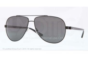 Versace VE2151 Sunglasses 126187-62 - Matte Black Frame, Grey Lenses