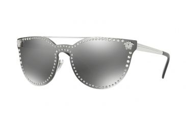 5659e66c523 Versace VE2177 Single Vision Prescription Sunglasses VE2177-10006G-45 -  Lens Diameter 45 mm