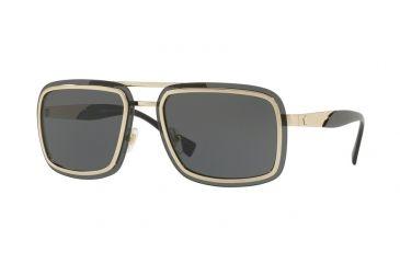 ce5782a379024 Versace VE2183 Sunglasses 125287-63 - Pale Gold Frame