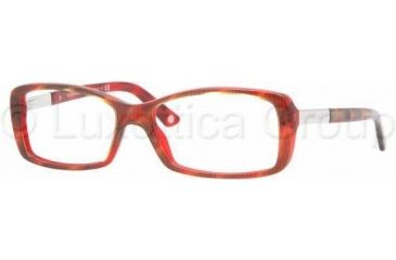 Versace VE3140 Eyeglass Frames 880 -5215 - Ruled Red