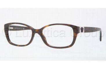Versace VE3148 Eyeglass Frames 108-5216 - Dark Havana