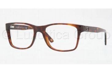 Versace VE3151 Eyeglass Frames 879-5218 - Havana Frame