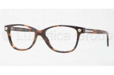 Versace VE3153 Progressive Prescription Eyeglasses 944-5116 - Dark Havana