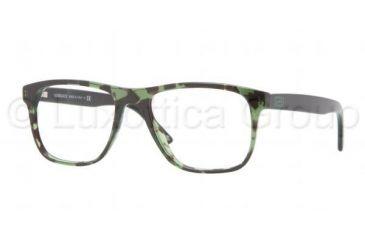 Versace VE3162 Eyeglass Frames 993-5217 - Green Havana Frame