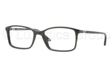 Versace VE3163 Progressive Prescription Eyeglasses GB1-5217 - Shiny Black Frame