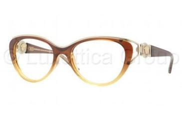 Versace VE3167 Progressive Prescription Eyeglasses 5006-5317 - Dark Steel Frame