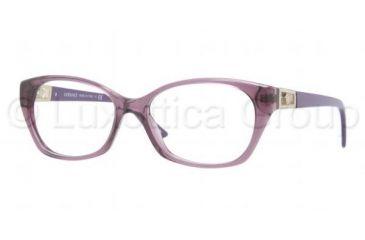 Versace VE3170B Eyeglass Frames 5029-5216 - Transparent Violet Frame